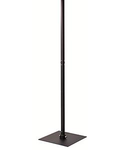 DRL E-Comfort Oasi terrasverwarmer alum. standaard zwart