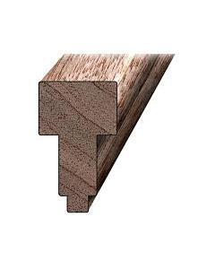 Hardhout kozijnhout B-stijl 66 x 110 mm L = 3.05 FSC