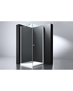 Best Design Erico cabine 4kant swing deur 90x90x200 nano glas 6 mm