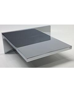Best Design Q-More waterval muuruitloop voor douche/bad