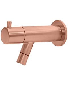 Best Design Lyon toiletkraan wandmodel rosé/mat goud
