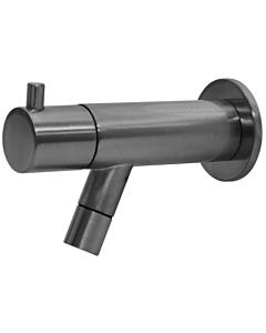 Best Design Moya toiletkraan wandmodel gunmetal