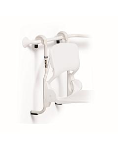 Handicare hangend frame voor douchezitting verstelbaar wit