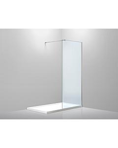 Gena ST01 inloopdouche 87-89 cm helder glas chr.