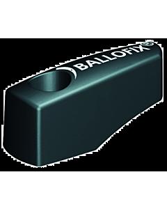 """Ballofix hendel voor kogelafsluiter 1/4 - 1/2"""" zwart"""