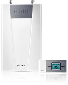 Clage elekt. geiser CFX-U Funktronic MPS+rc 11-13.5 kW 3x16/20A 400V