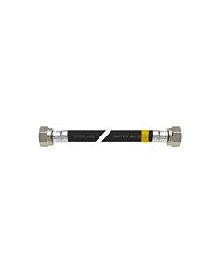Bonfix gasslang rubber 100 cm 2 x M24 bi.dr.