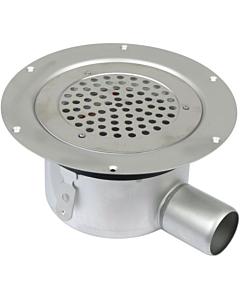 Aquaberg Domestic vloerput voor vinyl Ø 155 mm zu Ø 50 mm RVS