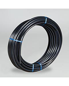Tyleenbuis zacht Ø 25 x 2.7 mm Kiwa zwart rol 100 m