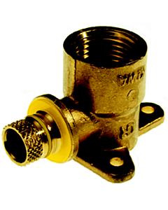 "VSH Multicon S Gas muurplaat 16 mm schuif x 1/2"" bi.dr."