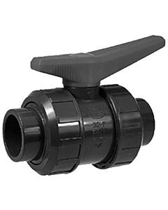 Akatherm kogelkraan met lijmsok en O-ring - 50 mm