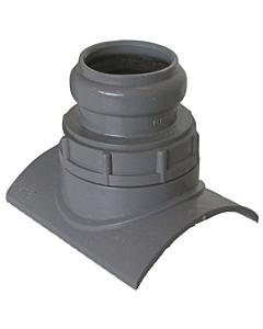 Girpi klemaanboorzadel 90° pvc Ø 125 x 40 mm