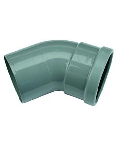 Wafix PVC bocht 45° 315 mm mof/spie