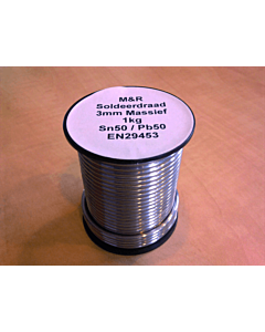 Draadsoldeer 50/50 3 mm 1 kg massief