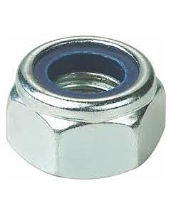 Borgmoer DIN 985 nylon ring verzinkt M14