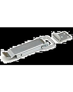 Eierkistsluiting 105 x 25 mm staal verzinkt