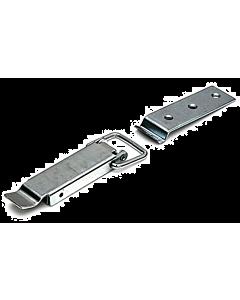 Eierkistsluiting 75 mm verzinkt incl. losse sluitclip sluiting
