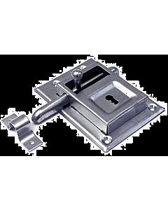 Grendelslot 115 x 85 mm 98/12 vernikkeld