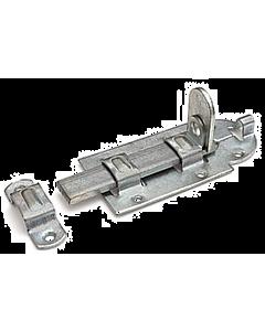 Hangslotrolschuif 140 x 56 mm staal verzinkt