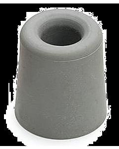 Deurbuffer rubber Ø 30 x 24 mm grijs
