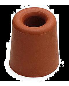 Deurbuffer rubber Ø 37 x 48 mm rood