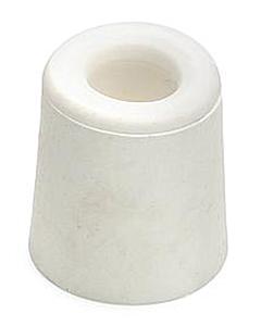 Deurbuffer rubber Ø 37 x 48 mm wit
