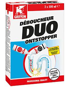 Griffon Duo ontstopper 2 x fles 0.5 liter