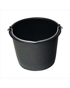 Bouwemmer zwart 20 liter