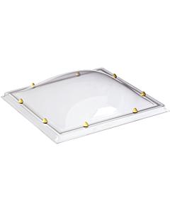 Skylux lichtkoepel 2W helder pmma/pmma 030 x 080 cm