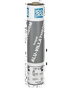 Icopal Alu-Villatherm K tussenlaag 4 mm 1-zijdig rol 1 x 5 m