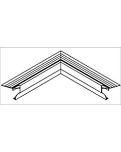 Roval Angle binnenhoek 60 x 50 mm 500 x 500 mm