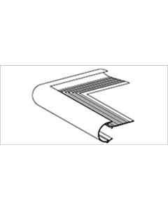 Roval Kraal buitenhoek 60 mm 500 x 500 mm