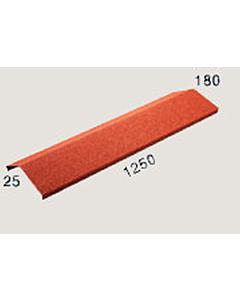 AeroDek Decra 'v' nok 120-25 mm rood 02
