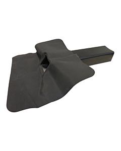 SealEco Groofy EPDM kiezelbak 60 x 100 x 400 mm 45°
