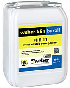 Weber.klin Baroli witte uitslag verwijderaar FHB-11 2.5 liter