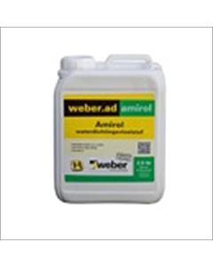 Weber Amirol waterdichtingsvloeistof 2.5 liter