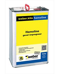 Weber.klin gevel impegneer Hamoline 10 liter