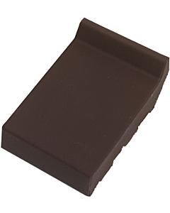 Terca raamdorpel ijzerklinker 105x160x30 mm kering 20 mm paars-bruin
