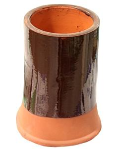 Schoorsteenpot z/rand 18/25 12 cm