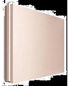 Gipsblok Z70 zwaar roze 500 x 450 x 70 mm