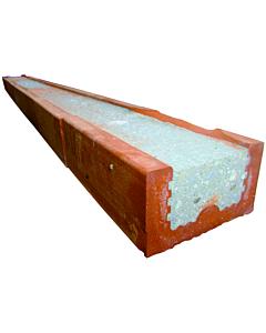 Baksteenlatei 6.5 x 10 x 120 cm