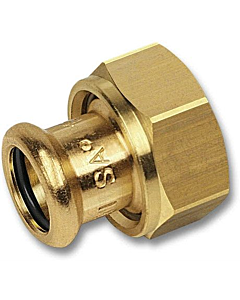 "PURAPRESS 2-delige koppeling 28 mm pers x 1.1/4"" bi.dr."