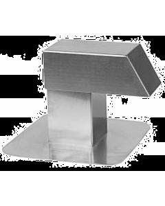 Anjo kabeldoorvoer alum. 120 x 120 mm enkel