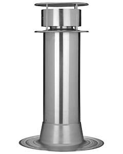 Anjo rookgas renovatieset conv. alum. Ø 150 mm met bovenkap