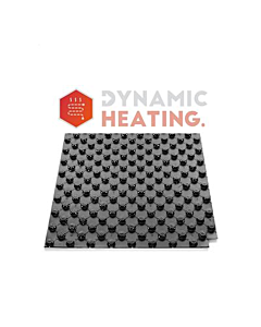 Dynamic Heating noppenplaat 140x80cm 10 mm isolatie h=30mm 1,12 m2