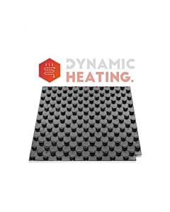 Dynamic Heating noppenplaat 140x80cm 30 mm isolatie h=50mm 1,12 m2
