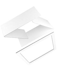 Ubbink Interieur afwerkrand plano 200mm wit