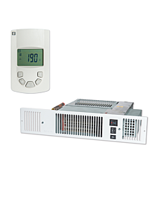 Remeha Kickspace 500 DUO Eco 1400W/1000W zonder grille