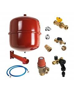 Bonfix Reflex installatiepakket 18 liter rood