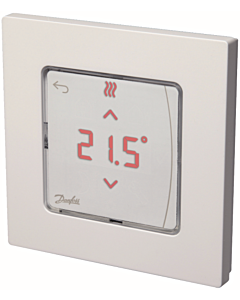 Danfoss Icon kamerthermostaat 230V display wand inbouw